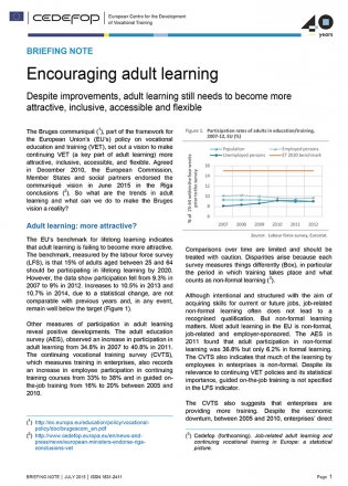 BriefingnoteEncouragingadultlearning