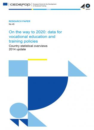 On the way to 2020 data for vocational education and training policies