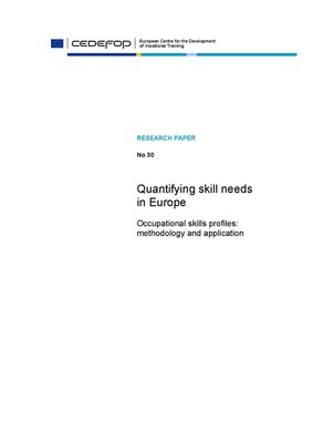 Quantifying skill needs in Europe