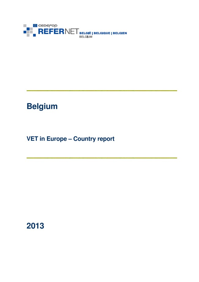Vet in country Belgium 2013